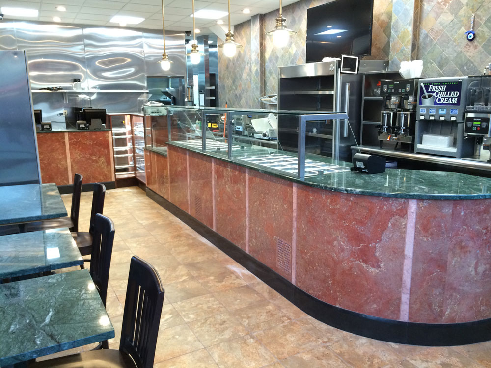 Marble, Onyx, Granite & Terrazzo, Services, Projects, Contact